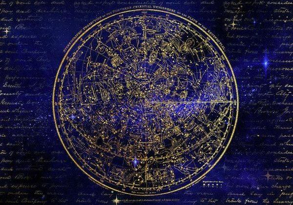 Northern Hemisphere Constellations – Art Print – 8.000 x 5.625 / Somerset Velvet